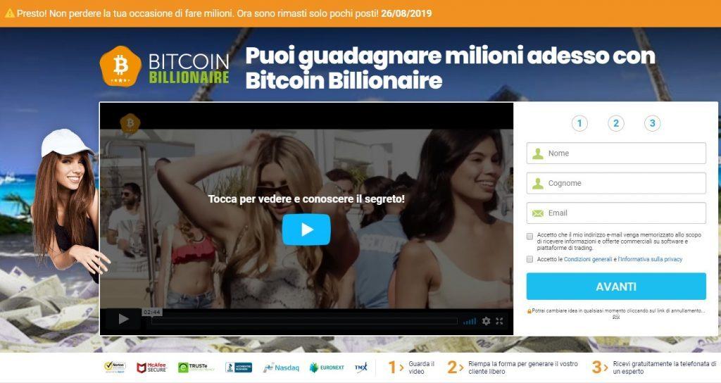 Bitcoin Billionaire: werkt het of is het oplichterij? - Bitcoin miljardair storting 1024x544