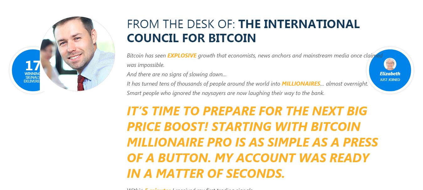 Recensione di Bitcoin Millionaire Pro: una piattaforma affidabile? - Bitcoin Millionaire PRO 1